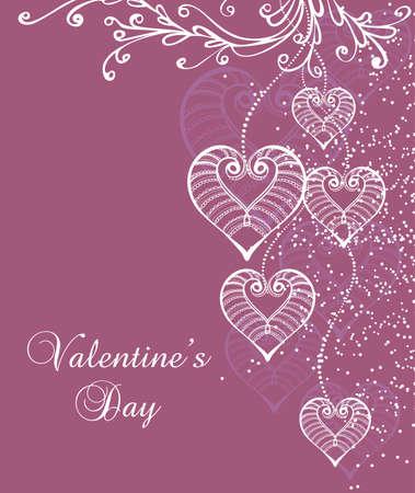 seamless Valentine background Stock Vector - 12326805