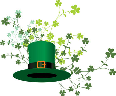 St  Patrick day  background Stock Vector - 12495382