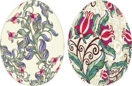 Decorative easter eggs Stock Vector - 13252335