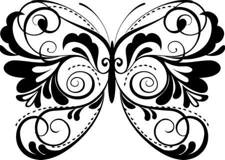 buttefly: ornamental buttefly