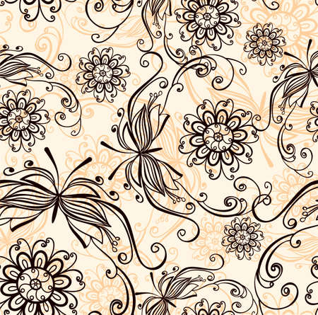 persia: Vintage seamless background