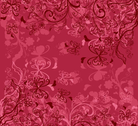 Floral background Stock Vector - 18156126