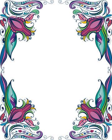 Floral frame Stock Vector - 18156121