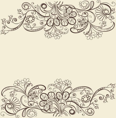 vintage background Stock Vector - 18156115