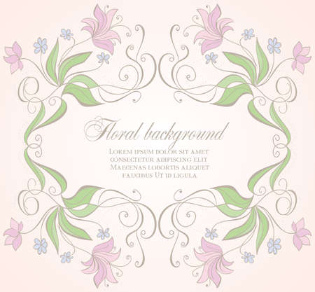 Floral frame Stock Vector - 18158868