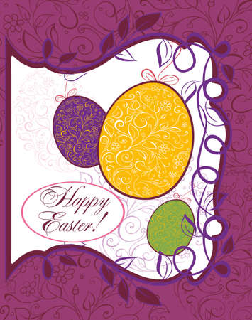 Easter background Stock Vector - 18158867
