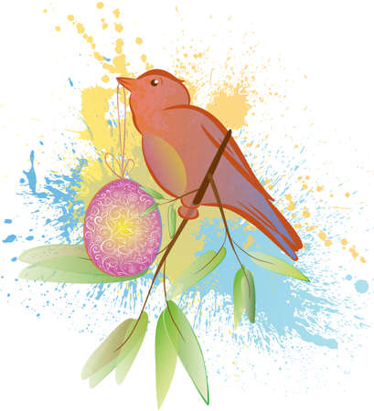 Spring bird Stock Vector - 18161351