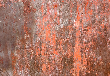 Rust iron metal surface. Texture and background