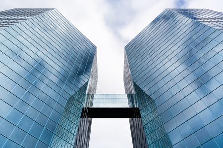 The Commerce Place buildings in Hamilton, Ontario, Canada, 2009. Reklamní fotografie - 78124131