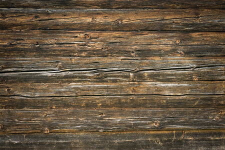 Rustic wood planks background with nice vignetting Stok Fotoğraf