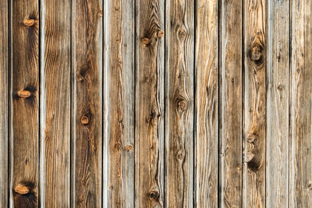 Natural brown barn wood wall. Wooden textured background pattern. Stock fotó