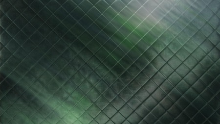 detail shot of green mosaic tile structure as a background image