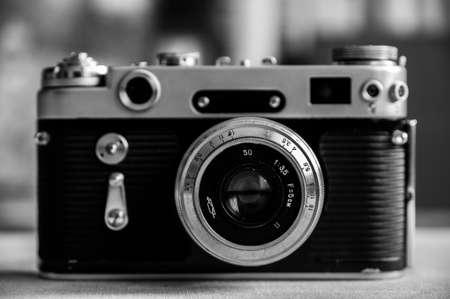 舊復古相機 版權商用圖片