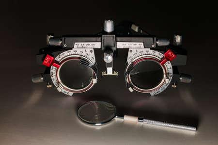 Adjustable optical frame 版權商用圖片
