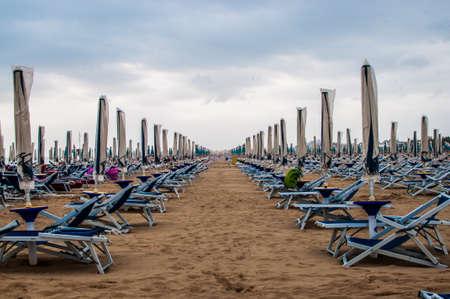 Bibione海灘,意大利 版權商用圖片