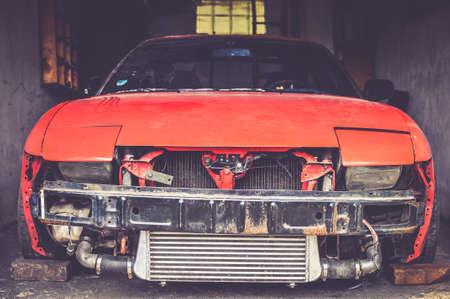 Car build 版權商用圖片