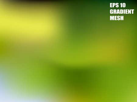 Background mesh color gradient. Vector abstract. Aqua blend. Green line