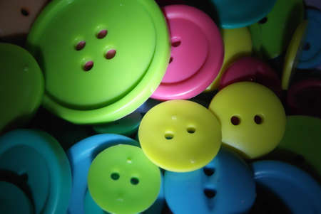 crafty: Pile of colorful buttons
