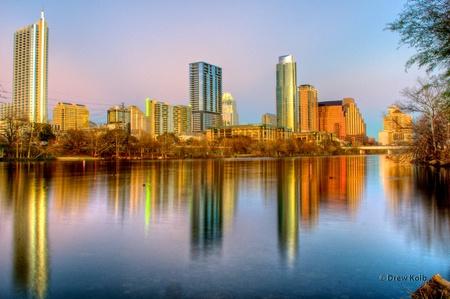 austin: Downtown Austin Skyline
