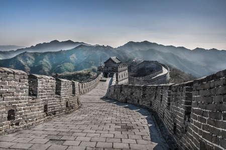 La Grande Muraglia a Mutianyu Archivio Fotografico - 15660047