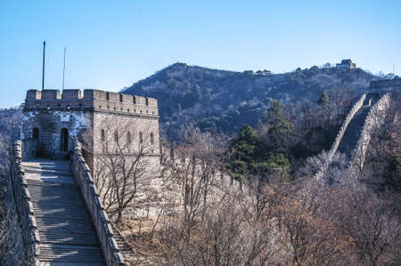 The Great Wall at Mutianyu Stock Photo - 15660049