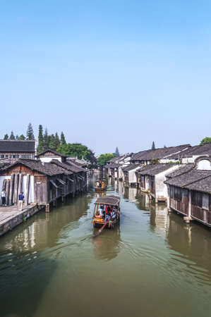 Ancient Water Town of wuzhen, China Stock Photo - 15694252