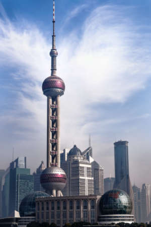 Oriental Pearl, Shanghai, China