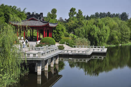 Xiasha park in hangzhou, China