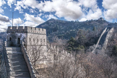 Great Wall at Mutianyu  Stock Photo - 17598661