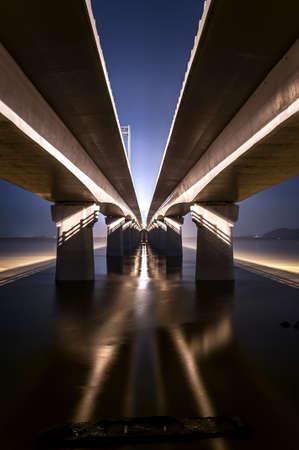 under the bridge Stock Photo - 17981199
