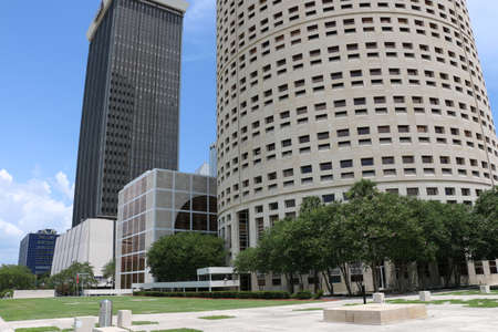Tampa, July 09, 2016 - Sykes and BB&T Buildings Downtown Tampa