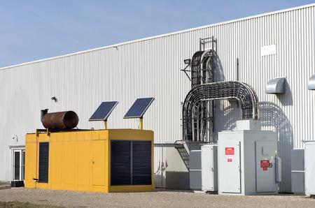 Industrielle génératrice de secours
