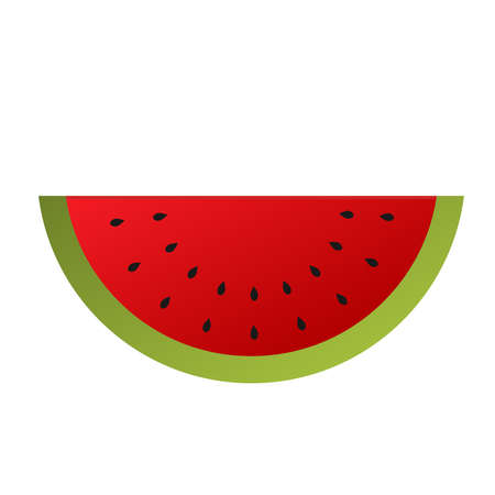 watermelon: Watermelon isolated on a white background.