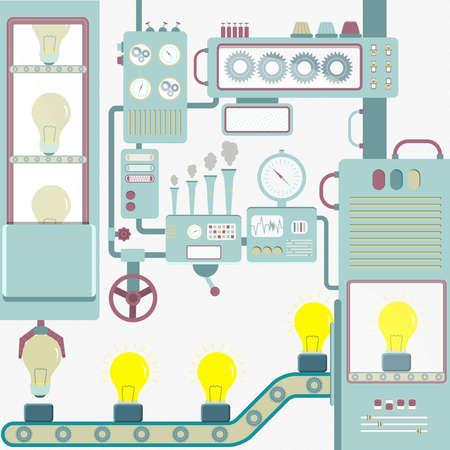 conveyor system: Industry creativity.
