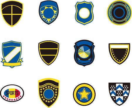 badge element Vector