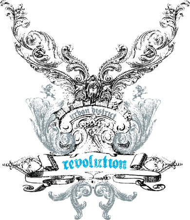 rebel: Crest emblem design