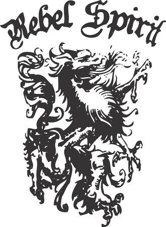heraldic crest element Stock Vector - 4358489