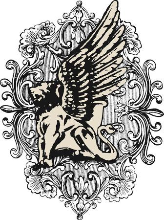 crests: stemma araldico elemento