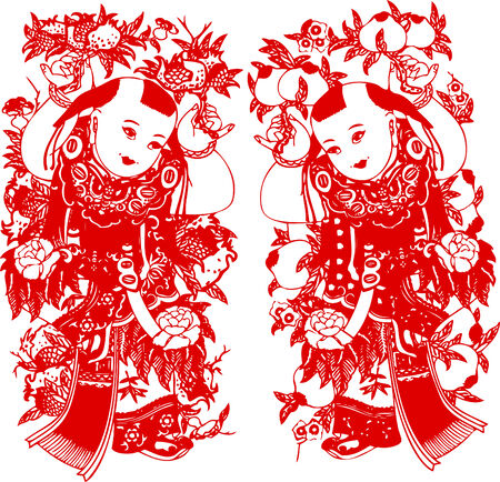 fortune flower: Chinese new year