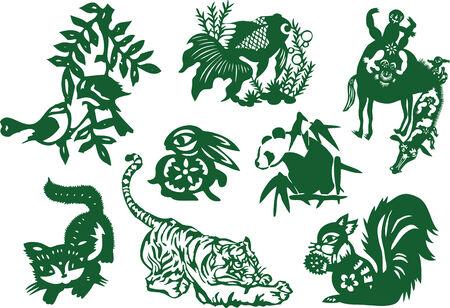 oriental animal élément