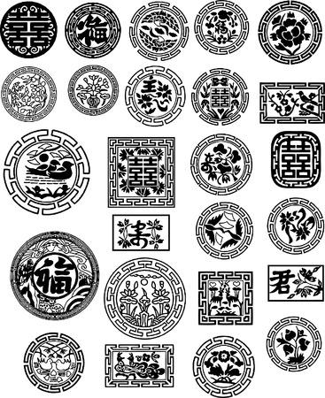 sosie: Conception chinoise Illustration