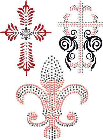 stitches: cross symbol