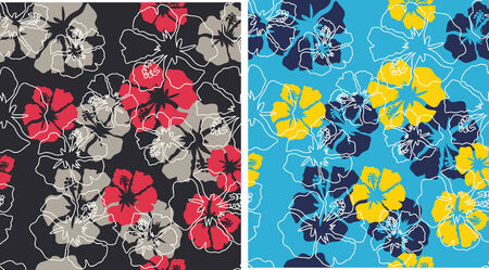 seamless floral background Stock Vector - 4424634