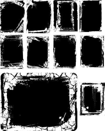 textur: Artistic frame  Illustration