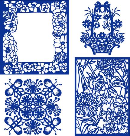 flores chinas: flor elemento