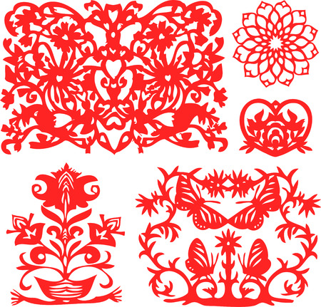 fancy floral element Stock Vector - 4424650