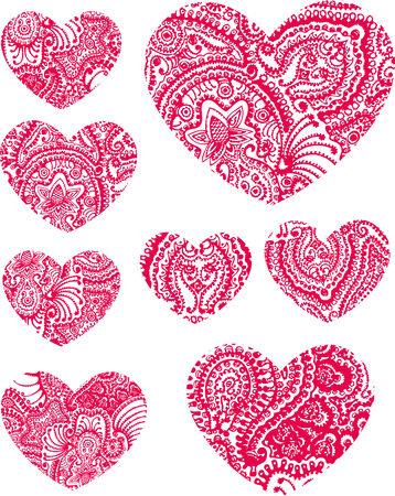 fortune flower: heart element