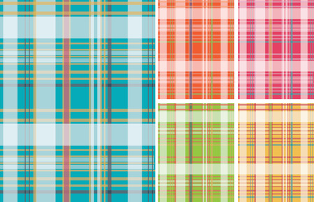 check fabric pattern Stock Vector - 4570275