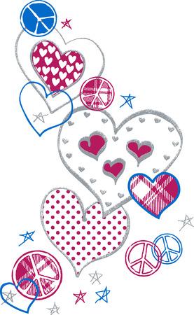 Ejemplo de amor y de paz Foto de archivo - 4587289