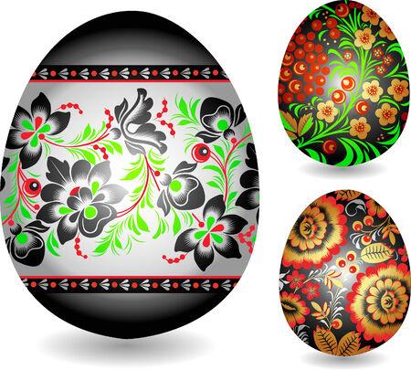 oriental easter egg Vector